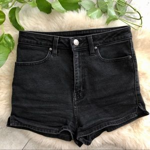 Urban Outfitters high-waisted jean shorts